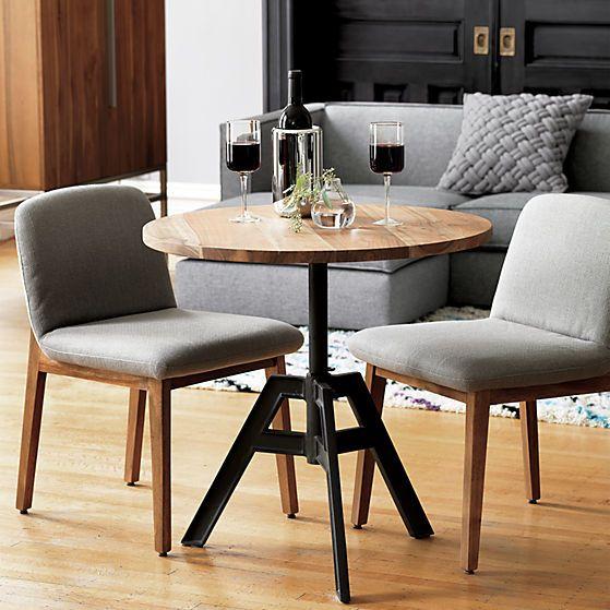 Beautiful Alias Adjustable Bistro Table