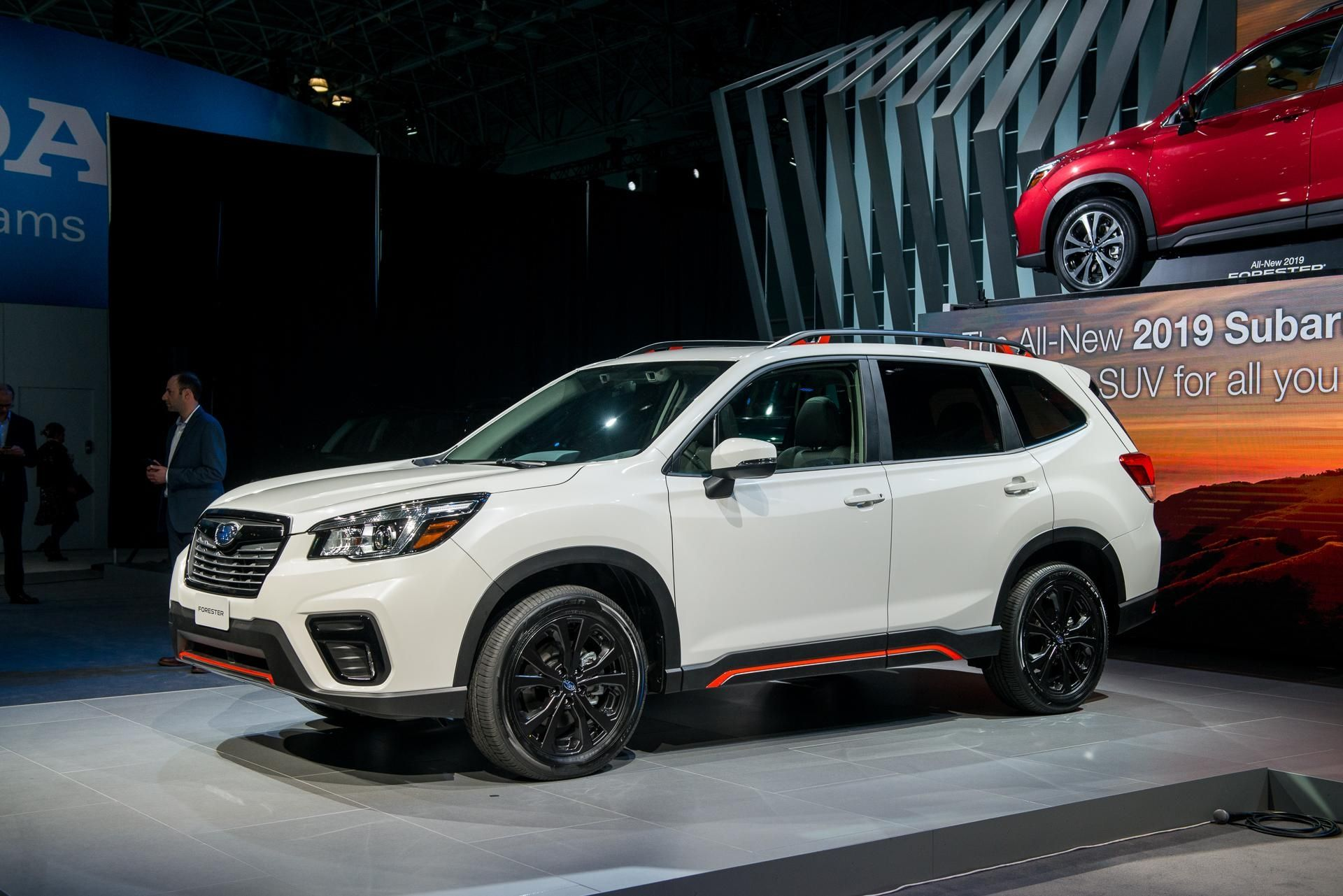 2019 Subaru Forester The Crossover Suv That Watches You Within 2019