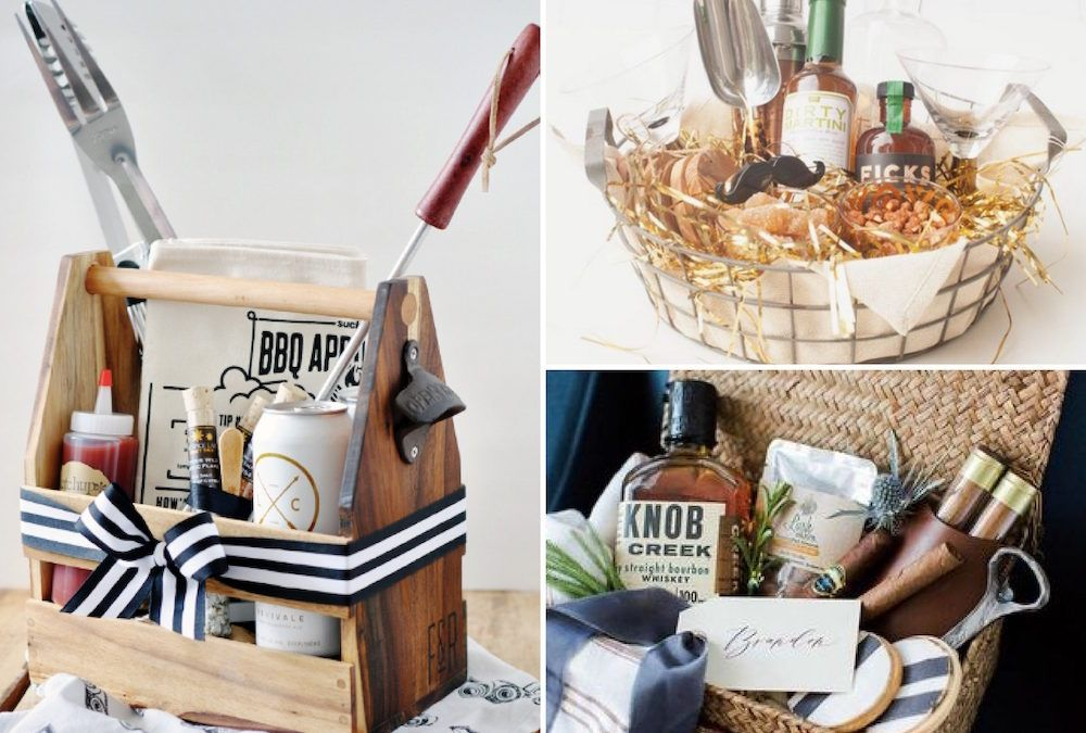 what to put in a father's day basket