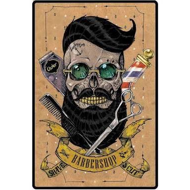 Resultado de imagem para barber shop CAVEIRA   Barbearia em 2019 ... 4fae4dc89c