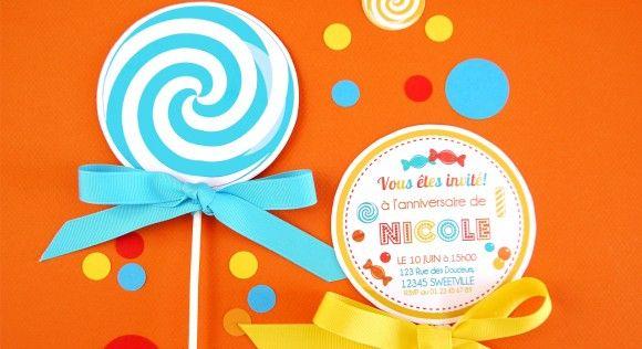 Une carte d'invitation originale pour un anniversaire | Modele carte invitation anniversaire ...