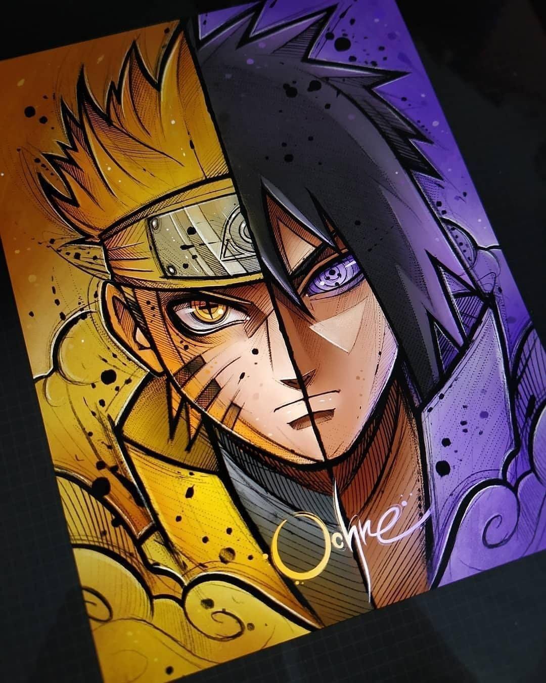 Naruto Naruto painting, Naruto drawings, Wallpaper