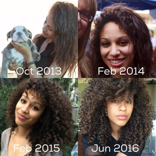 15 Curly Hair Transformations You Have To See To Believe Curly Hair Accessories Curly Hair Styles Hair Transformation