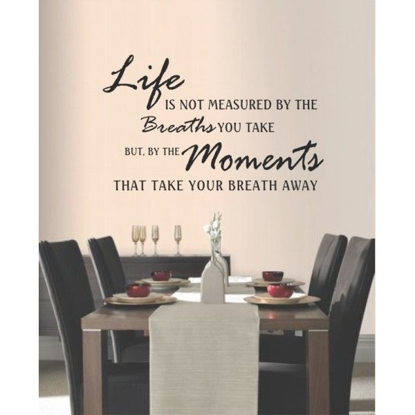 Dining Room Wall Dining Room Quotes