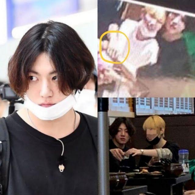 Jungkook has a Girlfriend?   Vkook, Rapper, Jeon jungkook