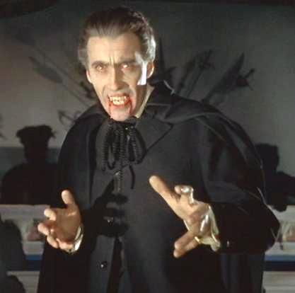 """Dracula"" starring Christopher Lee, 1958 (Hammer Horror ..."