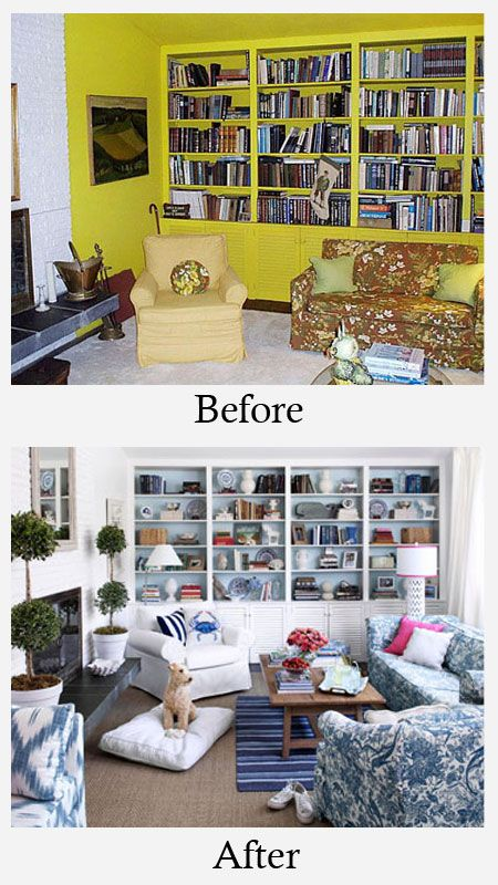 Living Room Makeovers Before And After Photos Living Room