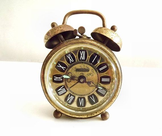 Vintage Alarm Clock Blessing Made In West Germany Tick