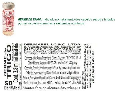 Germe De Trigo Ampola Produtos De Beleza