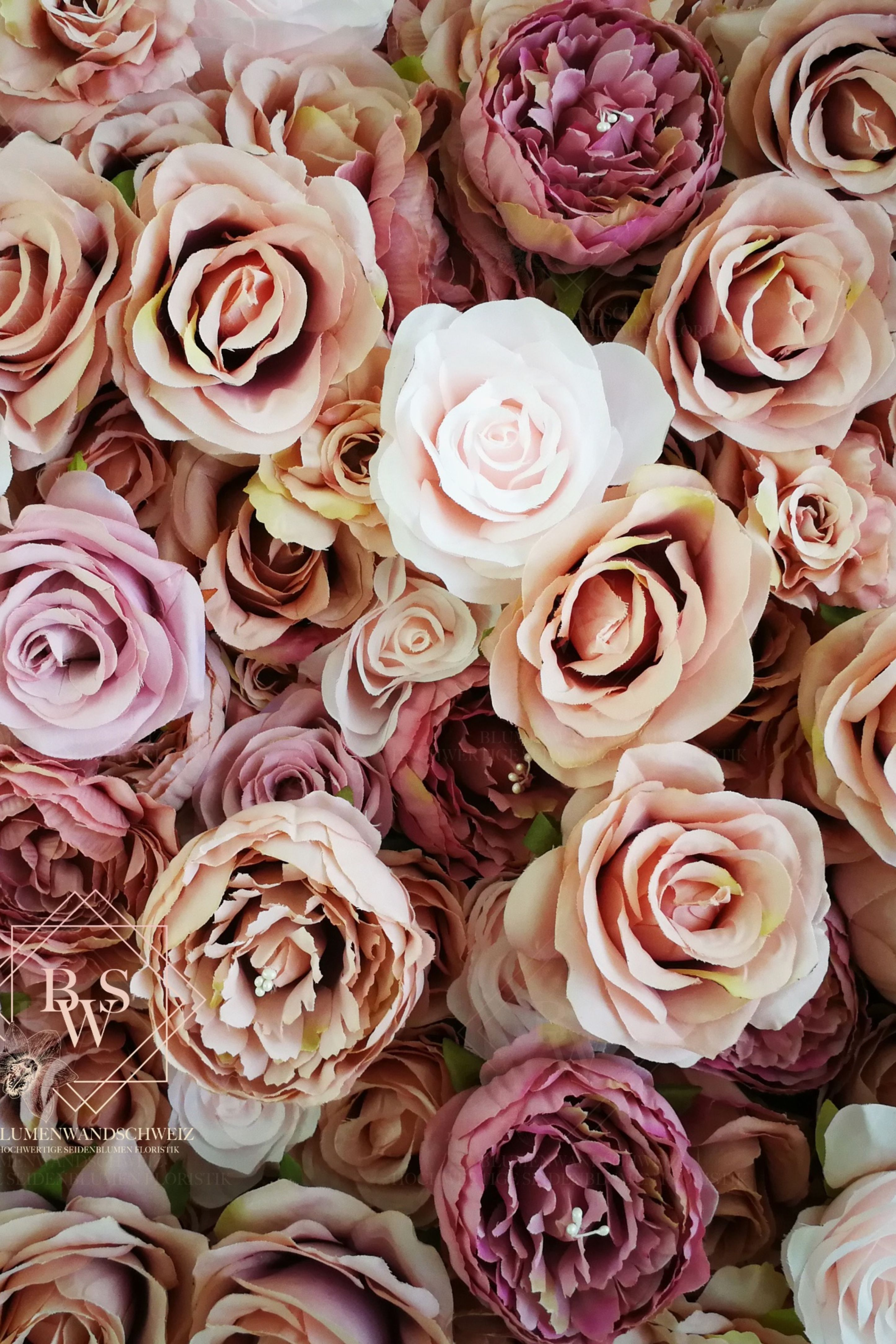 Flowerwall For Instagram Worthy Pictures Blumenwand Blumen Wand Seidenblumen