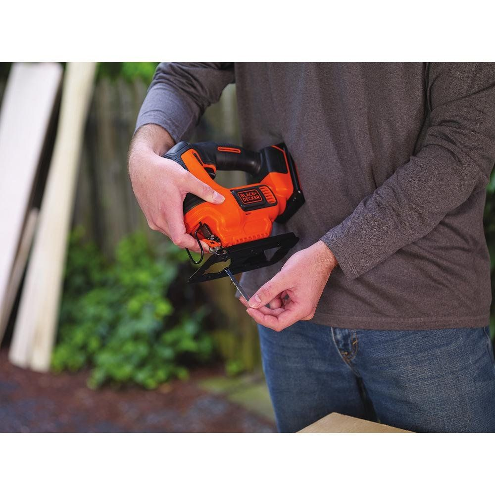 Black Decker Bdcjs20c 20v Max Jigsaw With Battery And Charger Make Certain To Look Into This Incredible Item This Is An Affiliate Decker Jigsaw Cordless