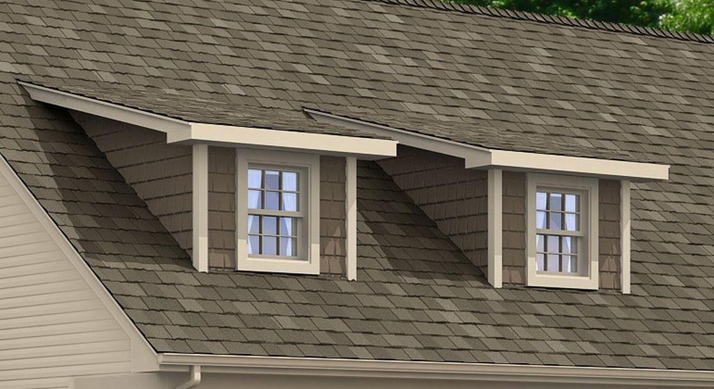 Shed Roof Dormer Shown Or 8 39 Shed Cape Dormer 1 Image