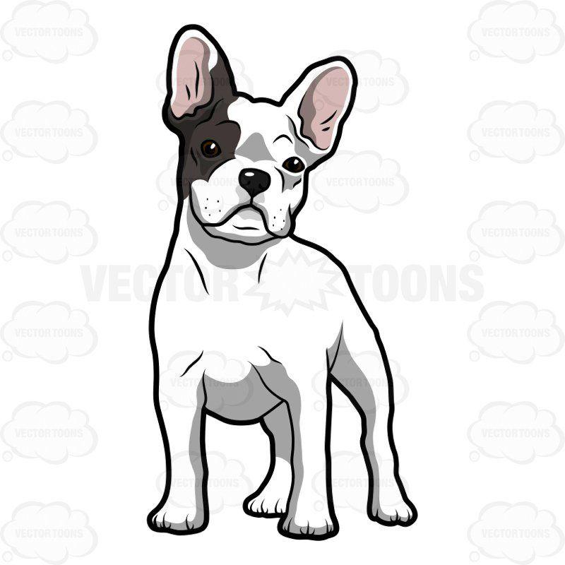 French Bulldog Art Little French Bulldog Dog Art 20 00 Via