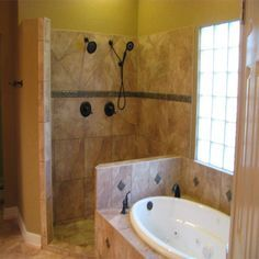 Bathroom With Jacuzzi And Shower Designs Google Search Master