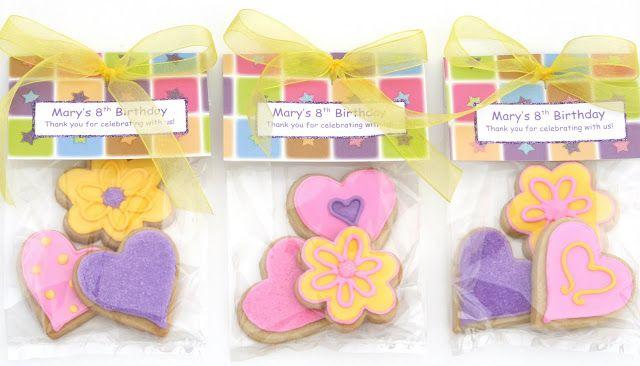 Pretty Packaging for Cookies #prettypackaging
