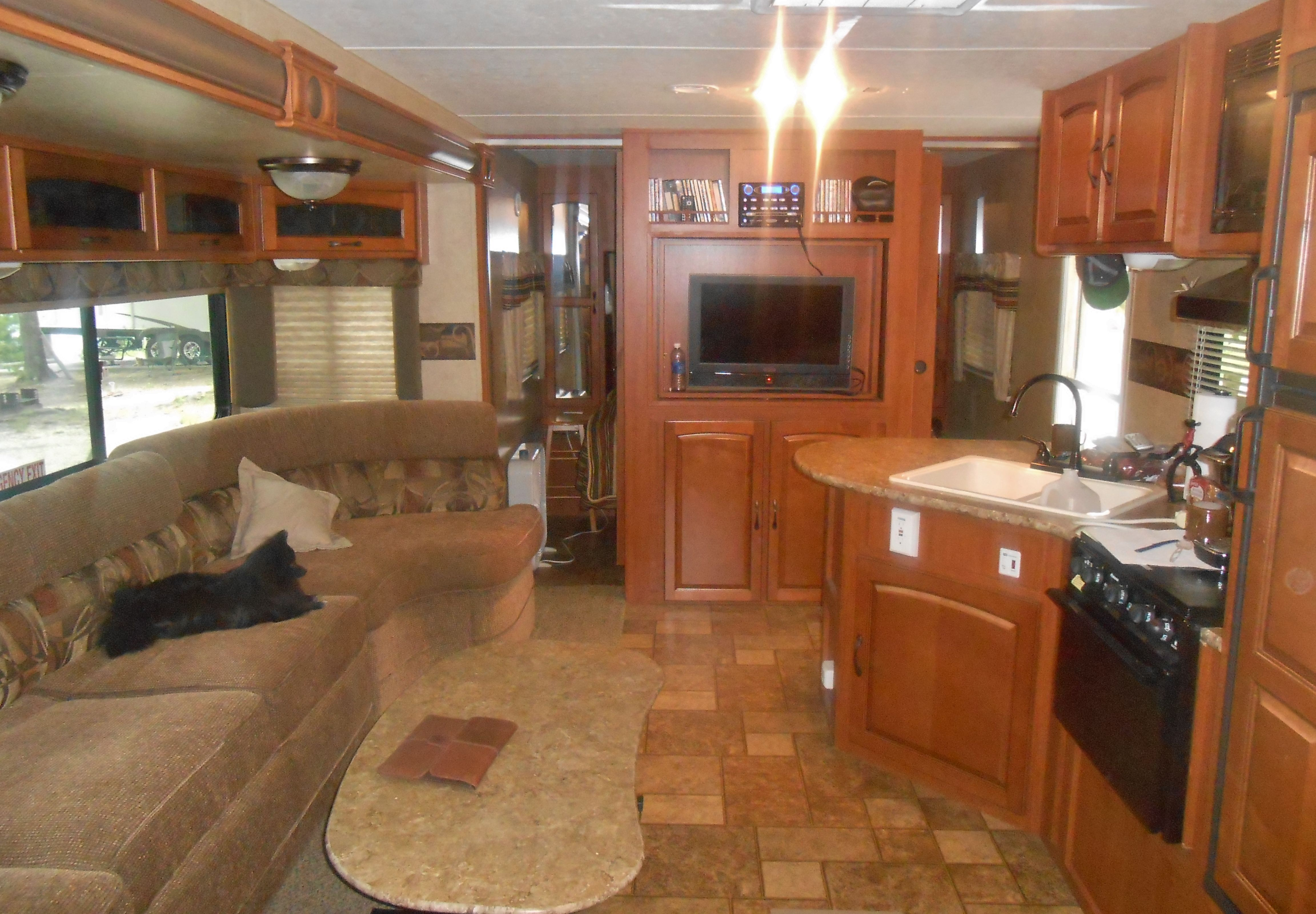 Best Interior Of Our Travel Trailer Double Slide Out With 3 640 x 480
