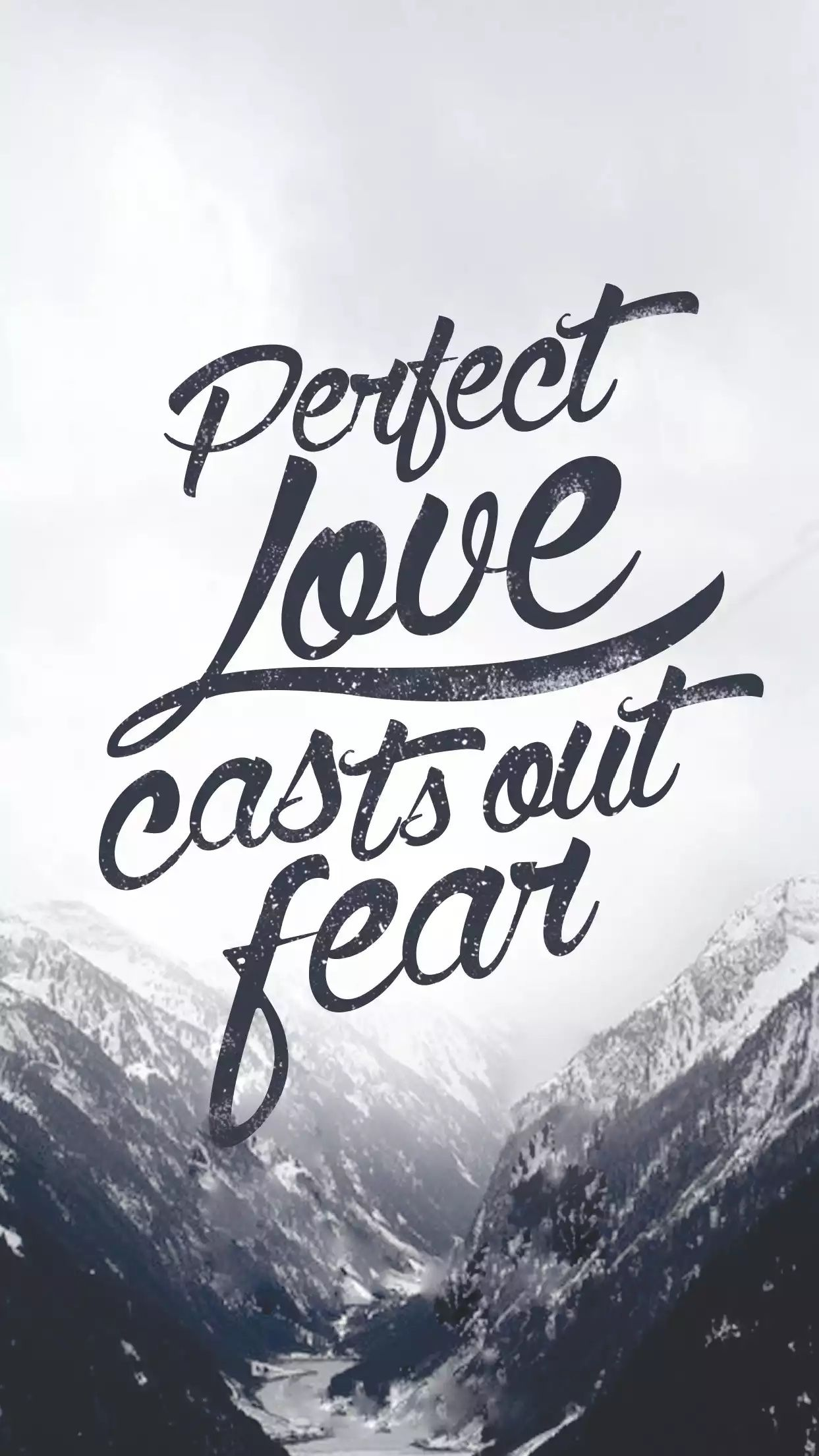 1 John love casts out all fear Bible verse Quote