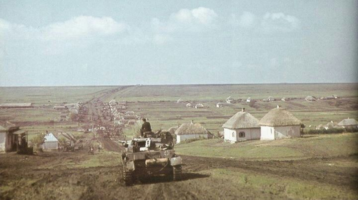 Russian steppes   Great Photos from The 2nd World War ...