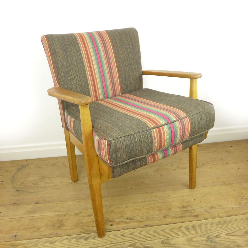 Mid Century Parker Knoll Fireside Chair. The Frame Is In Great Condition  With Only A Few Minor Knocks And Flaws. The Springs Are Original And In  Excellent ...