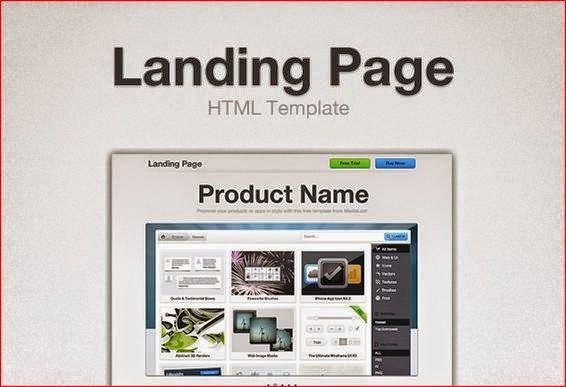 landing page cực đẹp | template blogspot | Pinterest | Template