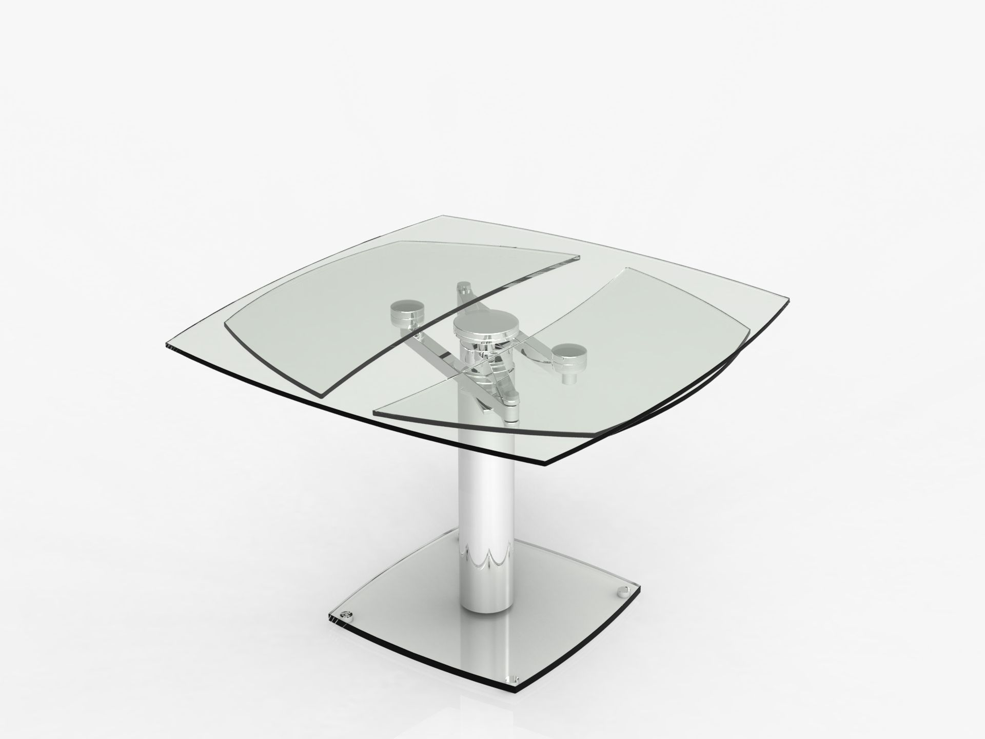 Dining Room Glass Table Extand By Eda Concept Table A Manger Table