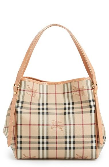 0f47ebfc9a1 Burberry  Haymarket Check - Small Canterbury  Tote   Nordstrom ...