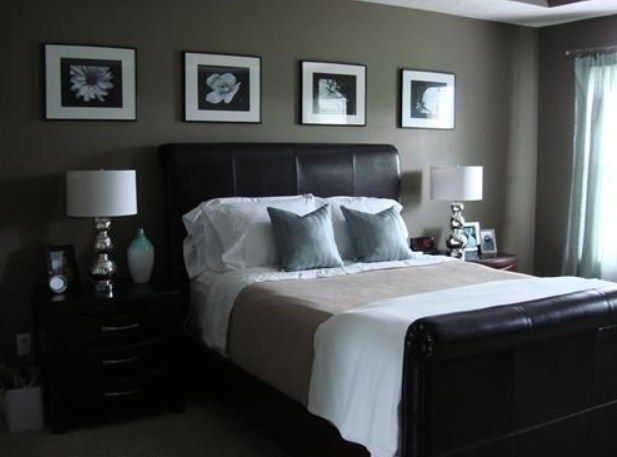 Master bedroom with dark furniture decorating ideas & Pictures ... on dark wood bedroom furniture, white bedrooms with dark furniture, black bedroom furniture, decorating bedrooms with traditional furniture, paint colors for bedrooms with dark furniture,