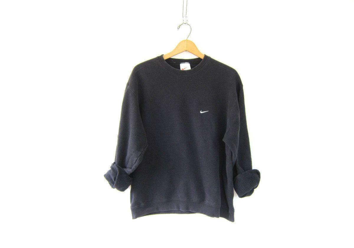 SweatshirtFaded Slouchy Washed Out Nike Vintage Black OiXZkPu