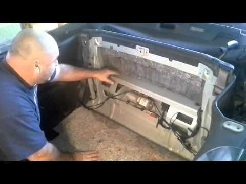 Fix Repair Chrysler Sebring Convertible Top Hydraulic Motor Fill You
