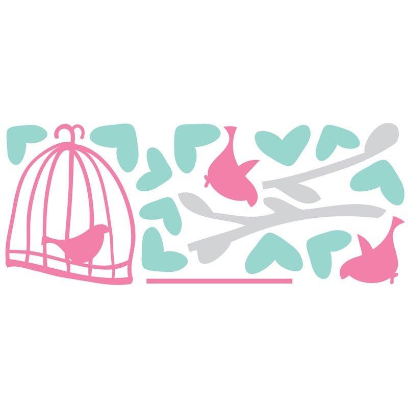 decal8  Birdcage Love %50 AUD