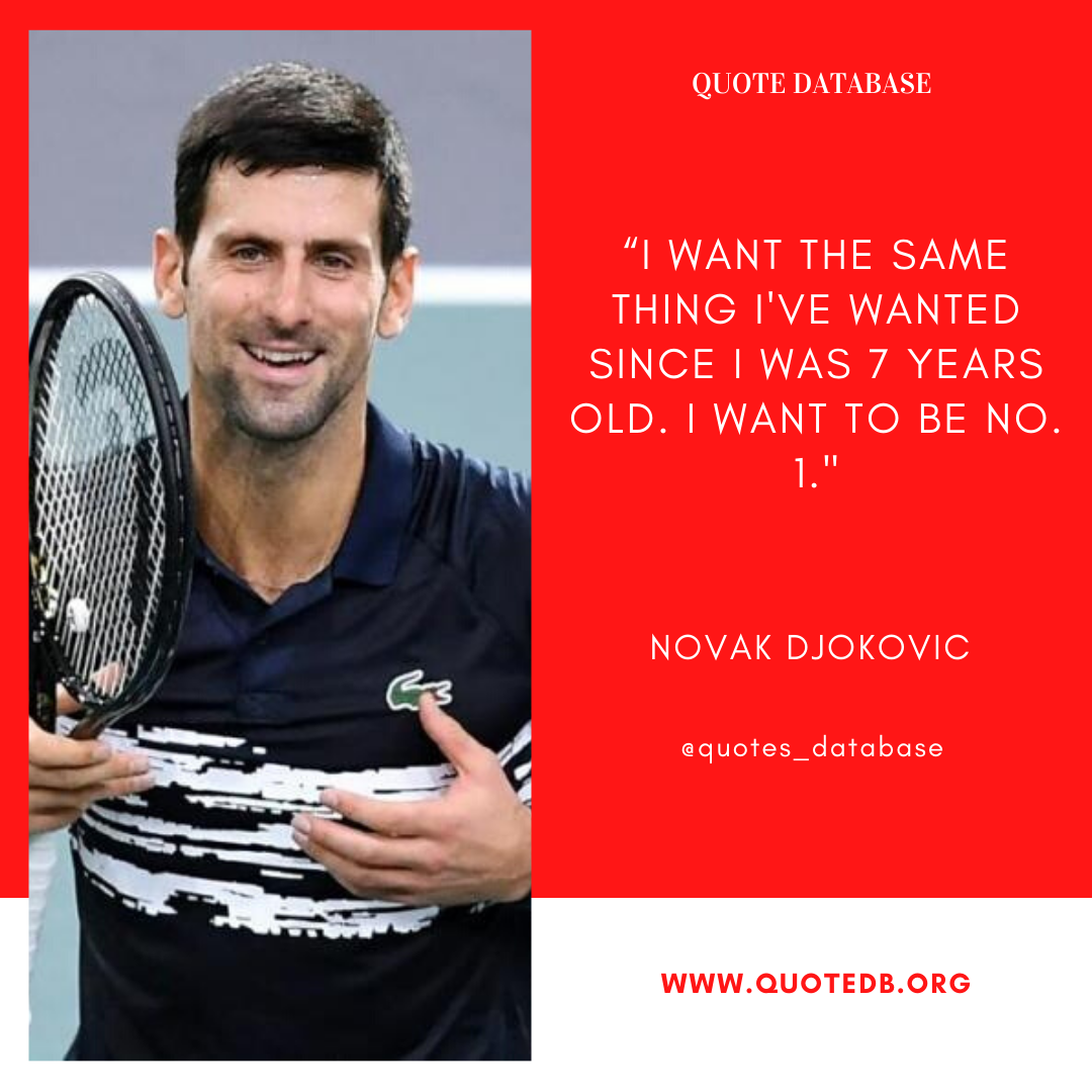 Novak Djokovic Quotes In 2020 Connection Quotes Today Quotes Inspirational Quotes