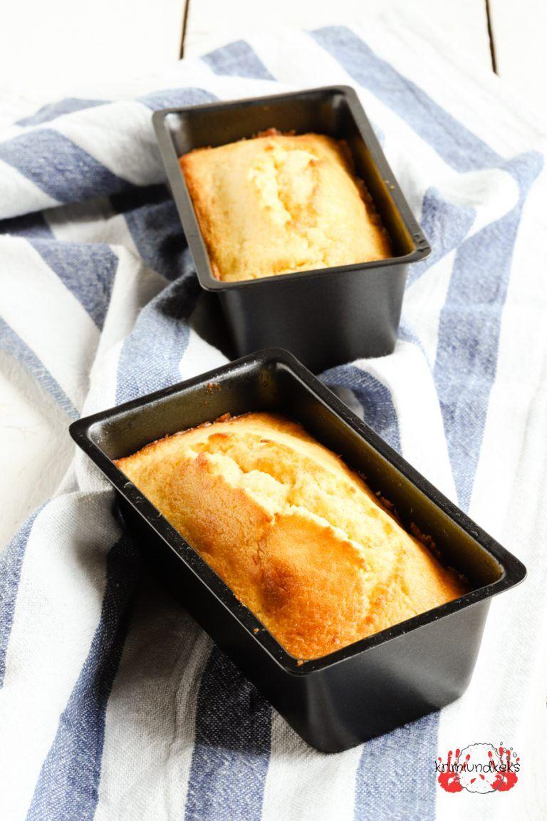 Saftiger Zitronenkuchen mit Zuckerguss -