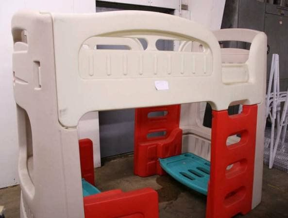 This Is Little Tykes Step 2 Twin Sizeor Loft Bed With Built In Desk