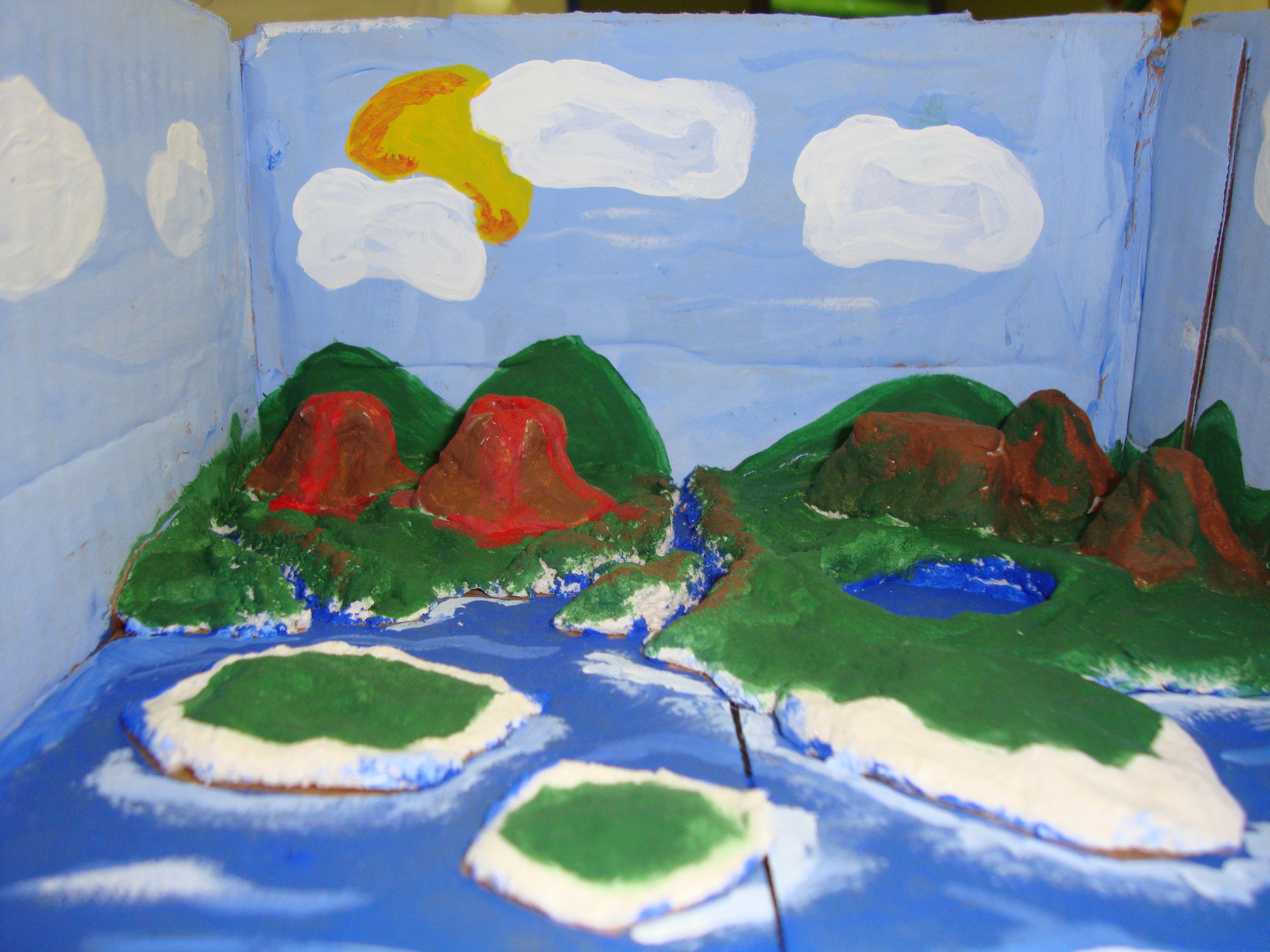 Landform Playdough Project  Crafts    Social Studies