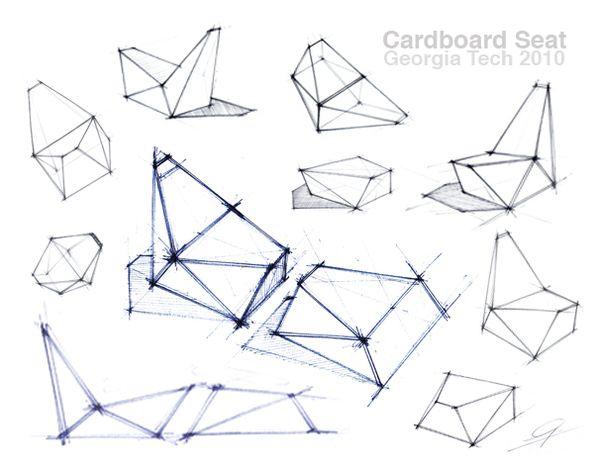Cardboard Seat by Gourab Kar.