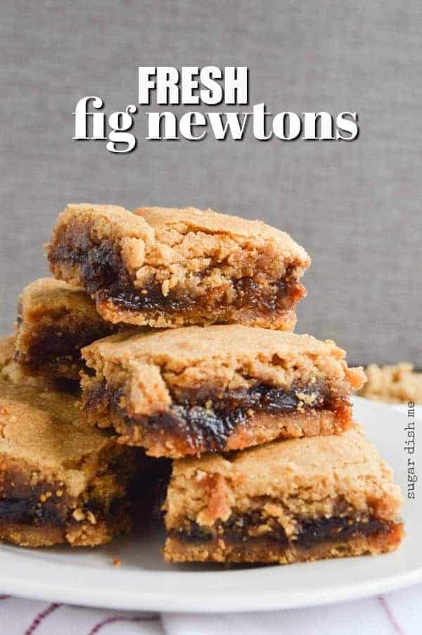 Fresh Fig Newtons Recipe Food Fig Cookies Fig Dessert Fig Newtons