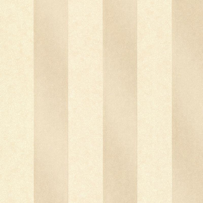 Brewster 2665 21425 Magnus Beige Paisley Stripe Wallpaper Beige