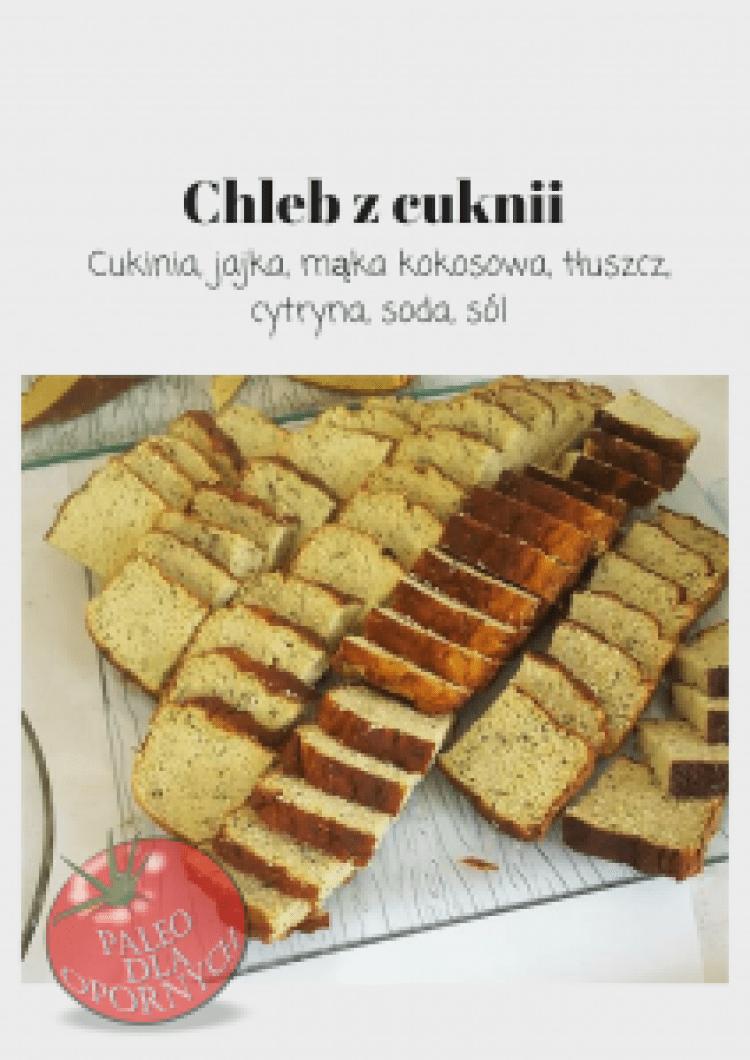 Bezglutenowy Chleb Z Cukinii Paleo Dla Opornych Food Keto Bread Paleo