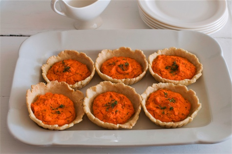 Sweet carrot tarts a fresh take on holiday vegetable | Planit Northwest