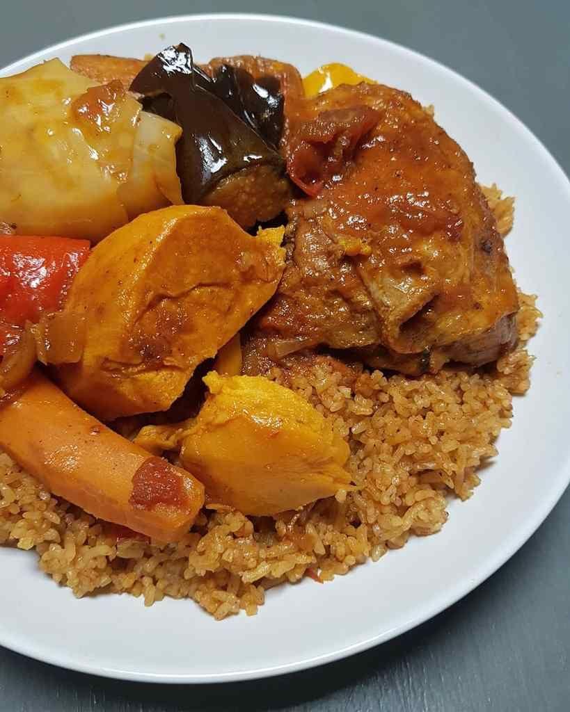 Tiebou Guinar Riz Au Poulet Senegalais Recettes De Cuisine Recettes De Cuisine Africaine Recette Tiep Poulet
