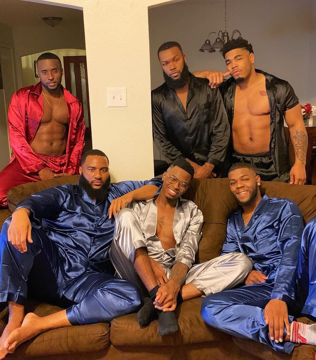 Gay men slumber party 4