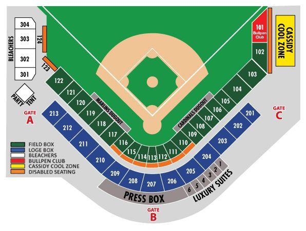 St Louis Cardinals Seating Chart Suites Brokeasshome Com