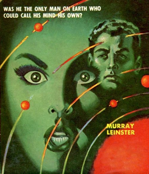 Murray Leinster The Brain Stealers 1954 Sci Fi Fantasy