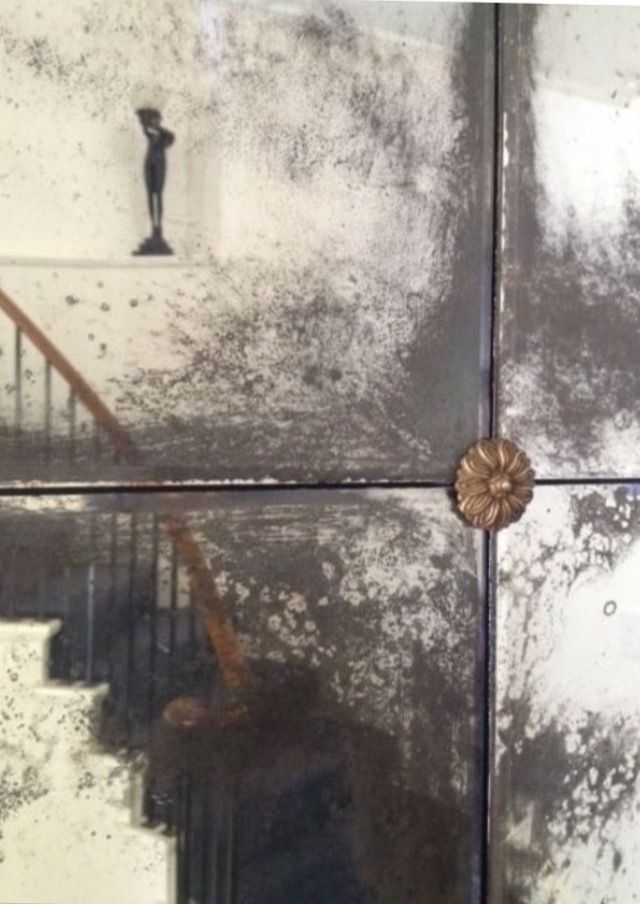 Antique mirror tiles image by gisele. on Suddenly ...