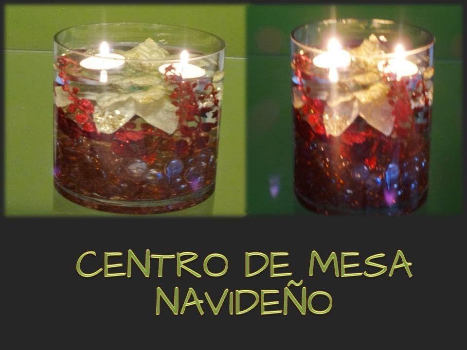 Centro de mesa navide o manualidades de navidad - Centros de mesa navidenos manualidades ...