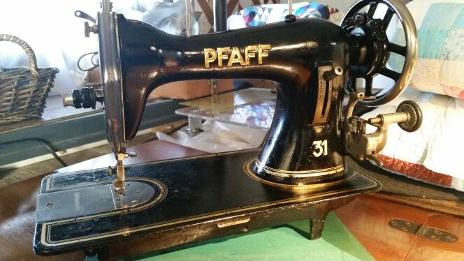 pfaff 31 made in 1927 vintage pfaff pinterest antique sewing machines. Black Bedroom Furniture Sets. Home Design Ideas