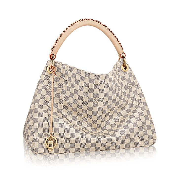 Artsy Mm Damier Azur Canvas In Women S Handbags Collections By Louis Vuitton