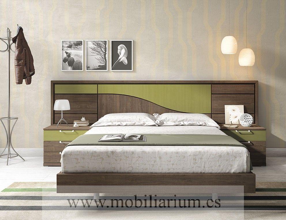 Dormitorios Modernos Lanmobel - Composición 12 Cabecero Silence ...