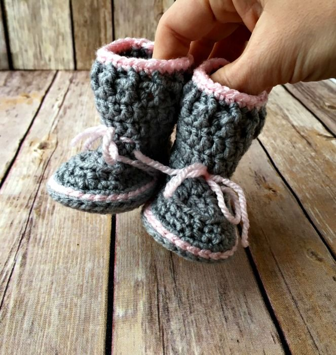 Spring Baby Boots Free Crochet Pattern Baby Booties Free
