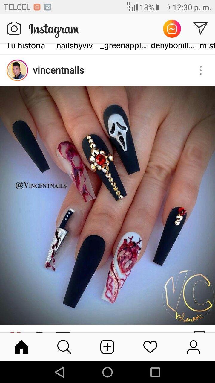 Pin On Nail Hallowen